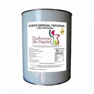 Aceite Especial Frituras 25l Exclusivas la Capital
